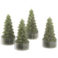 Tree Candles Set of Four