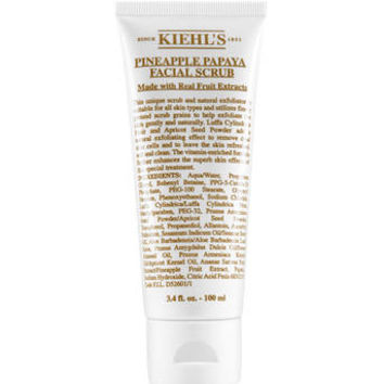 Pineapple Papaya Facial Scrub – Exfoliating Facial Scrub – Kiehl's