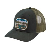 Patagonia Pointed West Trucker Hat in Carbon 38140