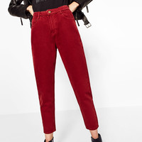 MOM-FIT TROUSERS DETAILS