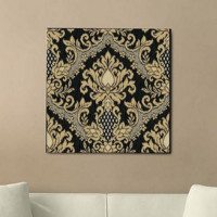 Bedazzle (Ebony) Canvas Wall Art