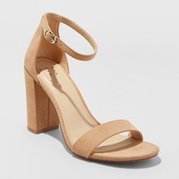Women's Ema Pumps - A New Day™ Taupe 7.5