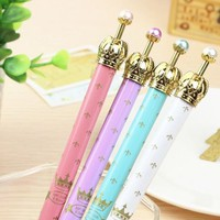 Pearl Crown Anchor Propelling Mechanical Pencil