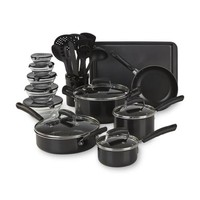 25 Piece Nonstick Cookware Set Pots Pans Kitchen Dutch Oven Non Stick Cooking