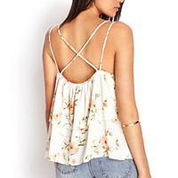 Tiered Floral Cami
