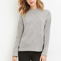 Brushed Knit Sweater   Forever 21 - 2000147100