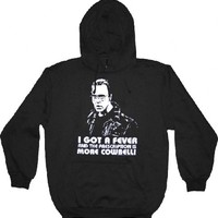 SNL Saturday Night Live Christopher Walken More Cowbell Black Hoodie|TV Store Online