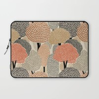 Autumn forest Laptop Sleeve by A.Vogler | Society6
