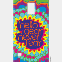 Hello Dear Never Fear Samsung S5 Case | Dhwani Mankad