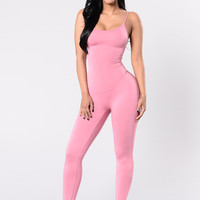 Nova Season Jumpsuit - Dusty Rose
