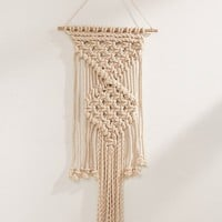 Macramé Rope Wall Hanging | Urban Outfitters