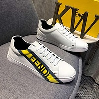 Fendi Women's Men's 2020 New Fashion Casual Shoes Sneaker Sport Running Shoes