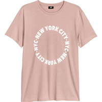 H&M Cotton Jersey T-shirt $14.99