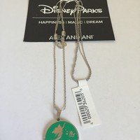 Disney Alex and Ani Parks Ariel Follow Your Dreams Necklacet Silver New with Tags
