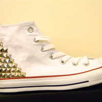 Studded Converse Tennis Shoes