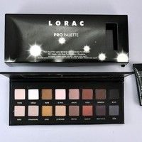 Professional Makeup LORAC PRO Eyeshadow Palette 16 Color Eye Shadow With Primer For Face Set Cosmetics