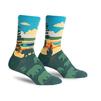National Parks Socks