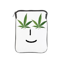 Pot Head Emote iPad Sleeve> The Pot Head Emote> 420 Gear Stop