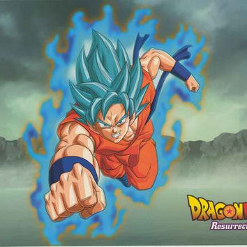 Dragon Ball Z Resurrection F Goku Poster 22x34