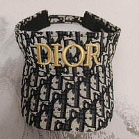 Christian DIOR Embroidery peaked cap