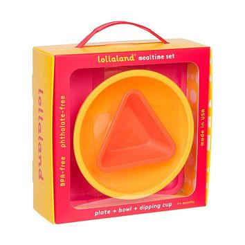 Lollaland Mealtime Set in Gift Box