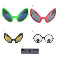 Funny Alien Costume Mask Novelty Glasses Halloween Party Photobooth Props Favors Accessories Party Supplies Decoration Gift New