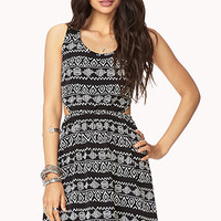 Tribal Print Cutout Dress | FOREVER 21 - 2000074561