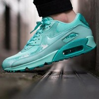 Tagre™ ONETOW Best Online Sale Nike Air Max WMNS 90 Print Artisan Tea Running Shoes Sport Shoes 724980-300