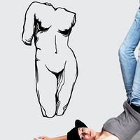 Vinyl Wall Decal Sticker Female Greek Statue #OS_MB535