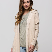 Rip Curl Great Escape Womens Cardigan Stone  In Sizes