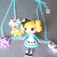 Lalaloopsy Alice in Wonderland Charm Necklace