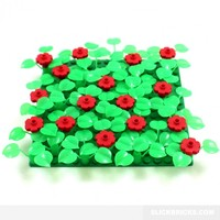 Lily Flower Bed - Lego Compatible Scenery