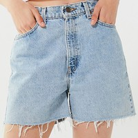 Urban Renewal Recycled Longline Cutoff Denim Levi's Short | Urban Outfitters