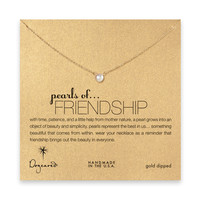 Gold Pearls of Friendship Necklace by Dogeared
