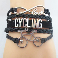 Infinity Love CYCLING Team sports Bracelet