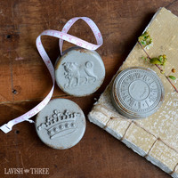 Distressed French Country tape measure