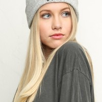 BAD LUCK EMBROIDERY BEANIE