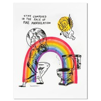 Stay Composed Art Print (Limited Edition)