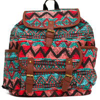 Dear Jane Tribal Backpack - One Size / Multi