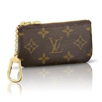 Louis Vuitton Fashion Print Monogram Canvas Key Pouch M62650 Coffee G