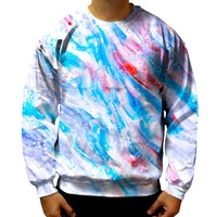 Light Blue Swerves Sweatshirt