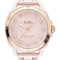 COACH Tatum Ceramic Bracelet Watch, 34mm | Nordstrom