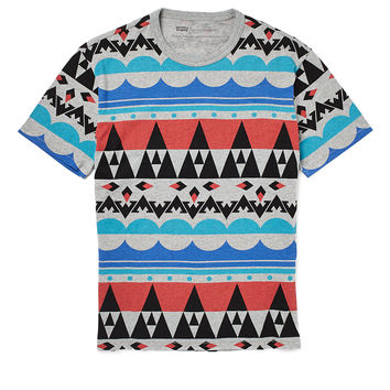 Levi's T Shirt with Mod Graphic Print