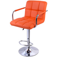High quality Swivel Office Furniture Computer Desk Office Chair in PU Leather Chair bar stool New Free shipping HW48529