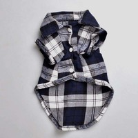 Plaid Shirt for small dogs