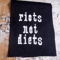 Riots not diets patch - feminist patch