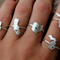 Any State Love Ring