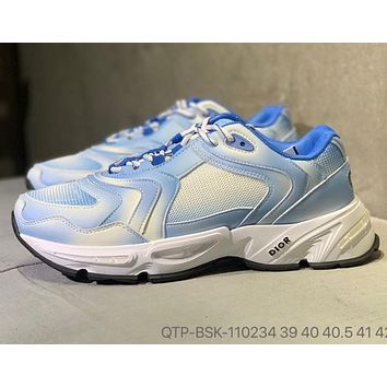 Dior new daddy shoes, increased soles, breathable uppers, casual shoes for men and women