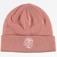 Obey Mira Rosa Dusty Rose Beanie | Zumiez