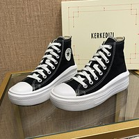 Converse All Star Move high-top thick-soled increased super light soft-soled women's canvas shoes